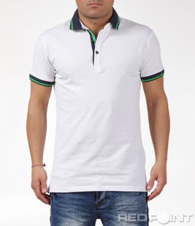 Тениска с яка 6070