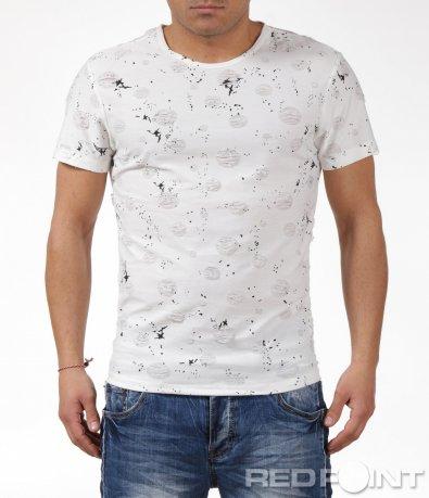 Тениска с  пръски 6062