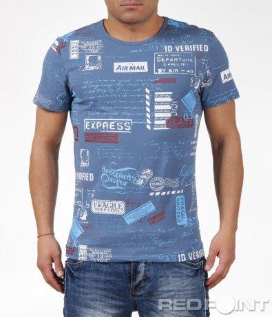 Пъстра тениска 6063