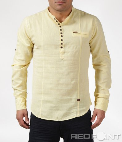 Свежа риза с половин закопчаване 6074