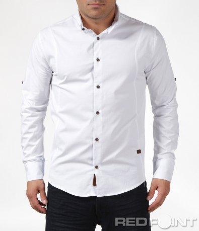 Класическа спортно-елегантна риза 6076