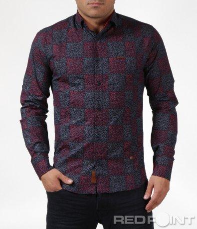 Вталена риза с орнамент 6077