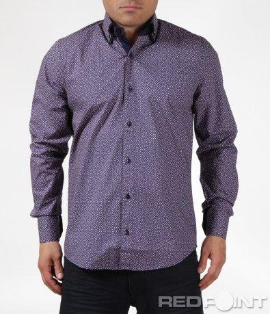 Пъстра риза Slim Fit 6085
