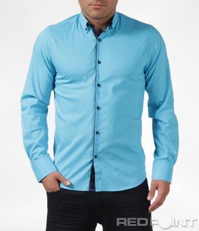 Практична риза с малки орнаменти 6087