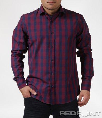 Ефектна вталена риза 6088