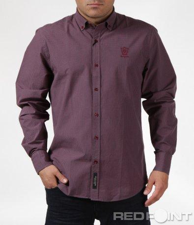 Елегантна риза с лого 6089