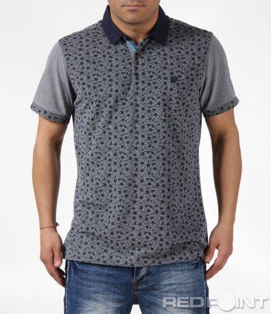Поло тениска с мотив 6102