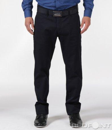 Спортно-елегантен панталон с колан 6121