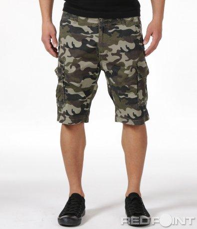 Камуфлажни къси панталони 6134