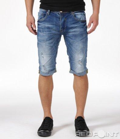 Спортни къси дънкови панталони 6149