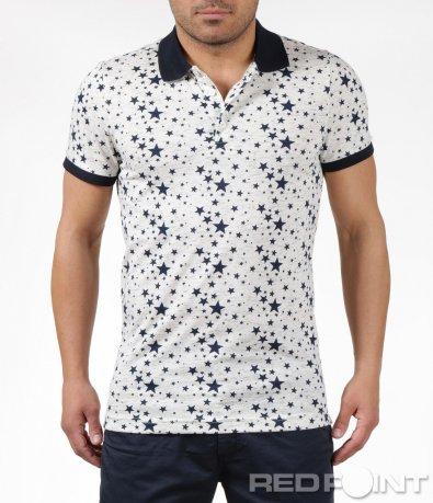 Тениска с яка Givenchy 6152
