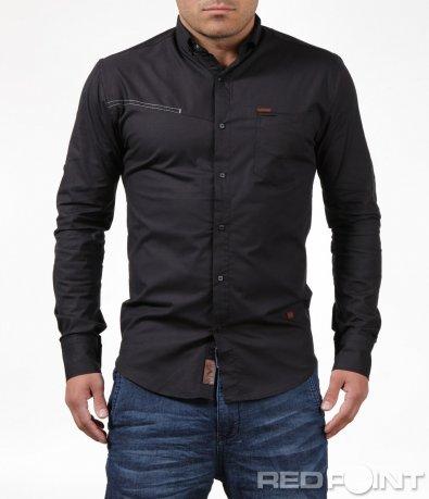 Стилна вталена риза 6193