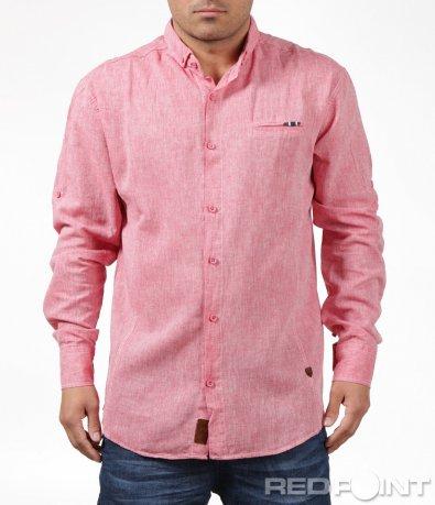 Ексцентрична риза със свободна кройка 6194