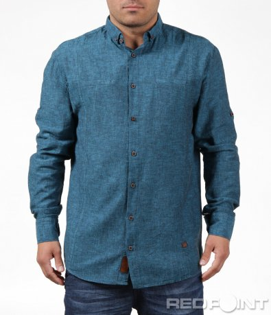 Модерна риза в стилен десен 6195