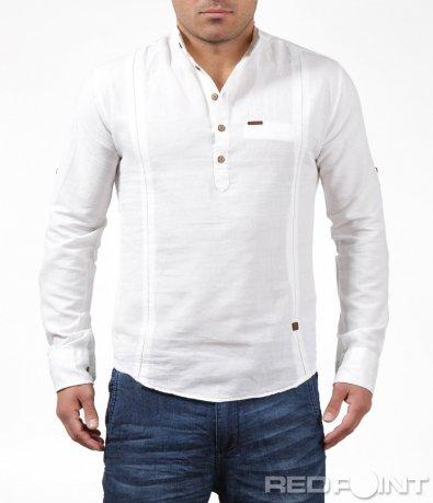 Свежа риза с половин закопчаване 6197