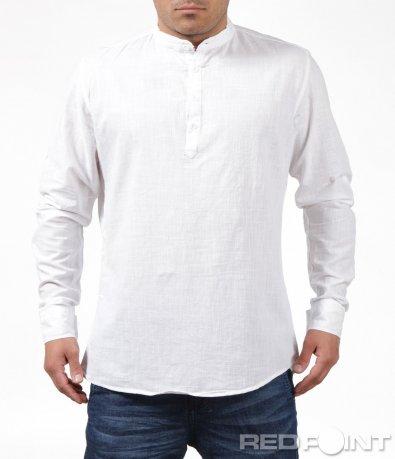 Спортна риза с половин закопчаване 6202