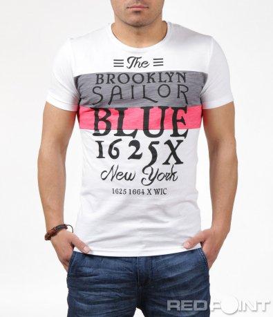 Свежа тениска с различни надписи 6236