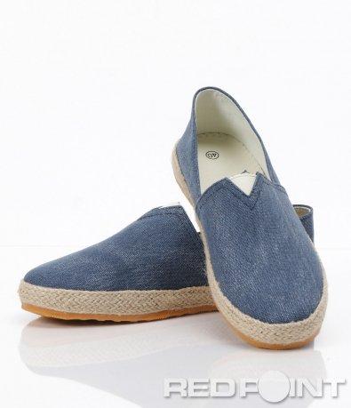 Мъжки обувки от дънков плат - тип Еспадрили 6278