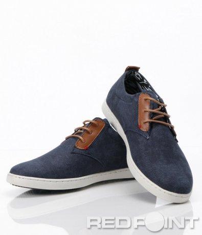 Пролетни сини обувки 6284
