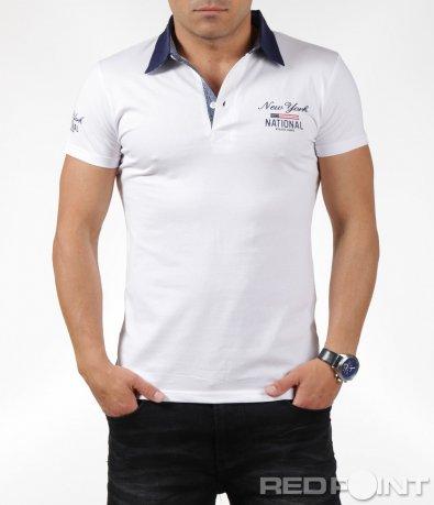 Поло тениска с декорация 6301