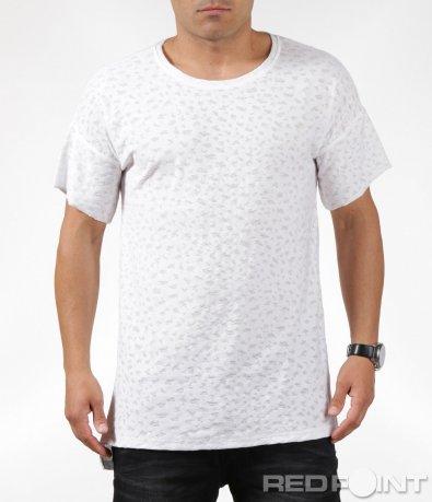 Интересна тениска с къс ръкав 6320