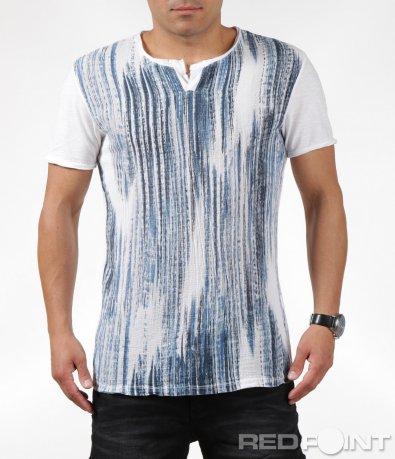 Класическа тениска с декорация 6322
