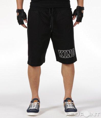 Черни къси панталонки 6325