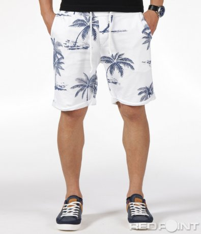 Летни къси панталонки с палми 6328
