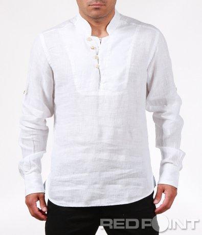 Свежа лятна риза от лен 6376