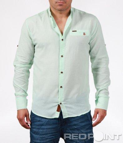 Атрактивна цветна риза с дълъг ръкав 6382