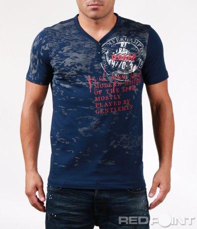 Тениска с акцентиращи елементи 6446