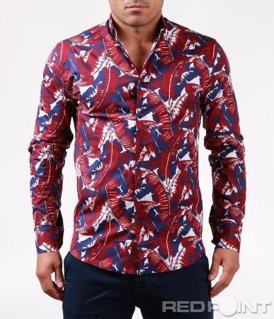 Лятна риза с дълъг ръкав 6458