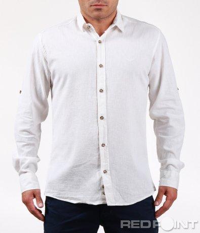 Изчистена риза със семпло лого 6472
