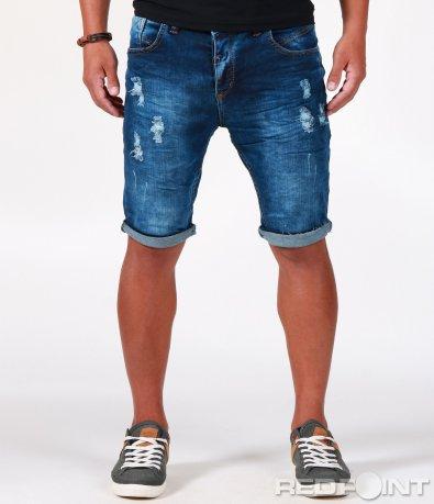 Къси дънкови панталони 6501