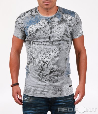 Тениска с vintage орнаменти 6507