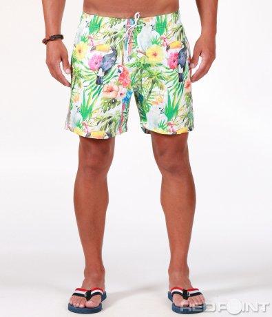Плажни цветни шорти 6508