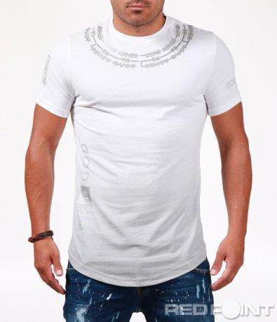 Тениска в стилна форма 6513