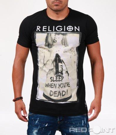 Впечатляваща тениска с образ 6522