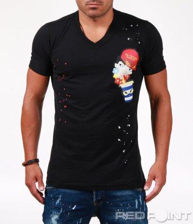 Тениска с щура щампа 6531