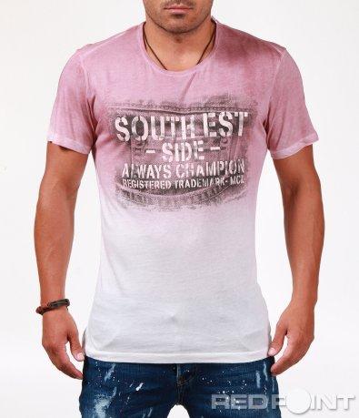 Свежа тениска с омбре ефект 6540