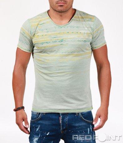 Лятна тениска с етно мотиви 6547