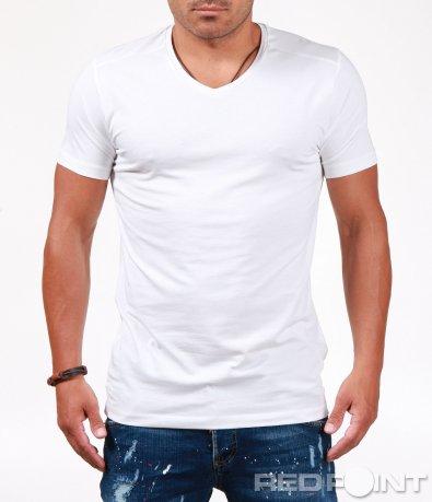 Изчистена тениска с къс ръкав 6553