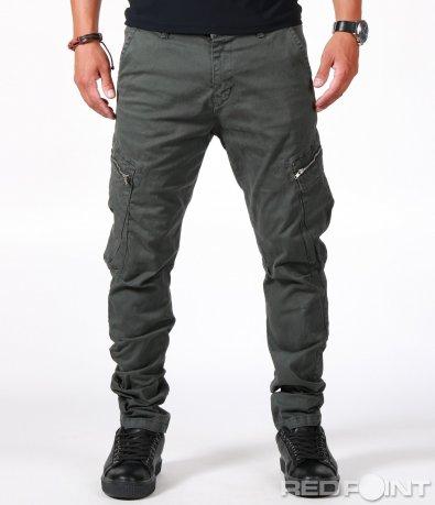 Панталон със странични джобове 6608