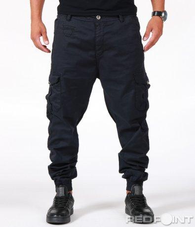 Спортен син панталон 6640
