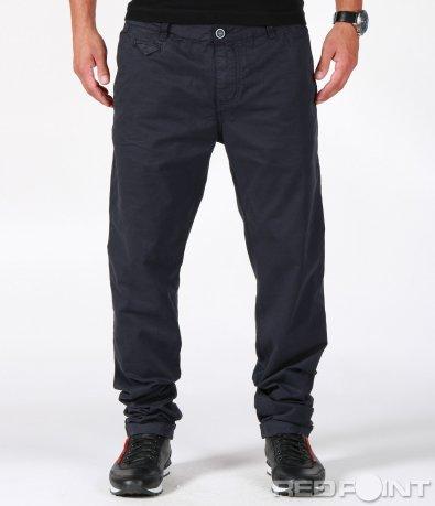 Класически син панталон 6642