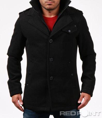 Елегантно палто с двойно закопчаване 6649