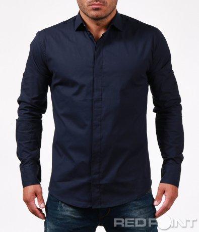 Спортно-елегантна изчистена риза 6732