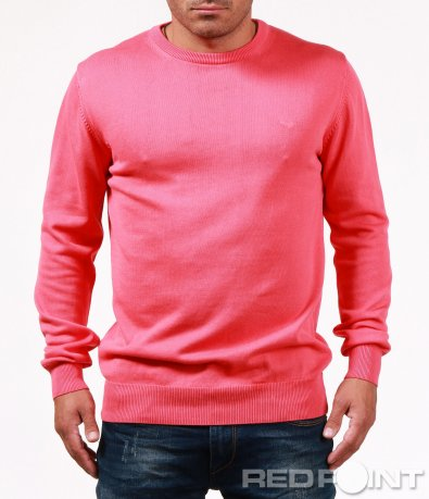 Розова блуза туп пуловер 6739