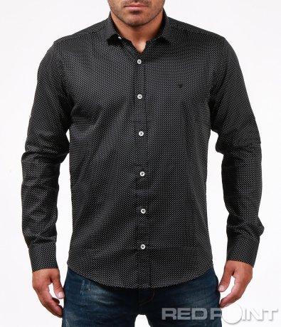 Елегантна риза на точки 6720