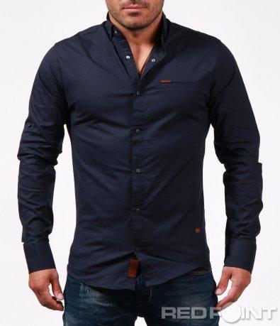 Класическа риза с емблема 6731